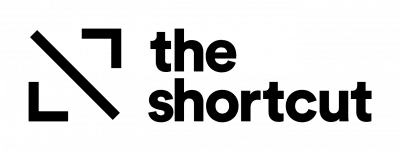 The Shortcut logo RGB black
