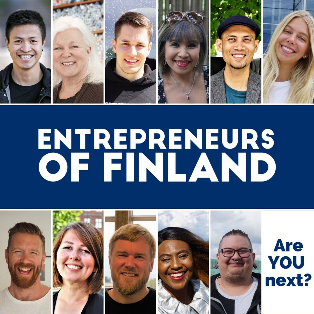 Entrepreneurs of Finland cover