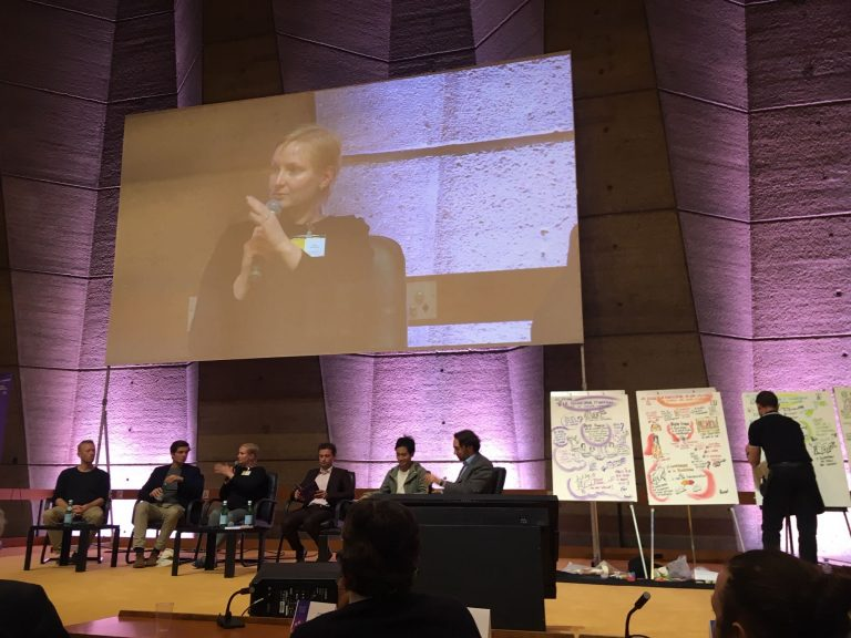 Anna at UNESCO Paris