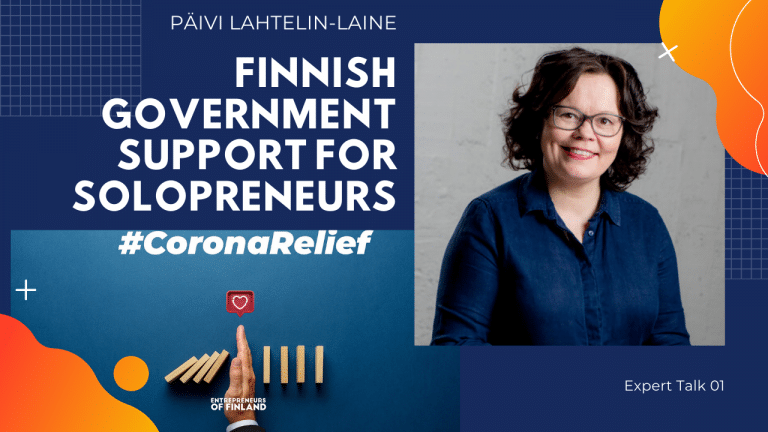 Finnish_Government_support_for_solopreneurs_Päivi_Lahtelin-Laine_YritysEspoo