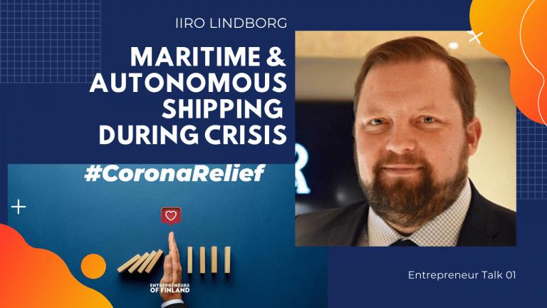 Iiro Lindborg Groke Technologies Corona Relief Entrepreneur of Finland