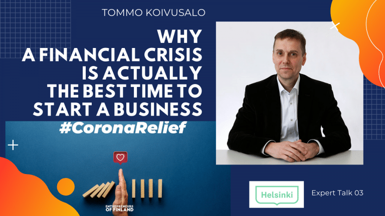 Tommo Koivusalo City of Helsinki business startup scene corona expert talk
