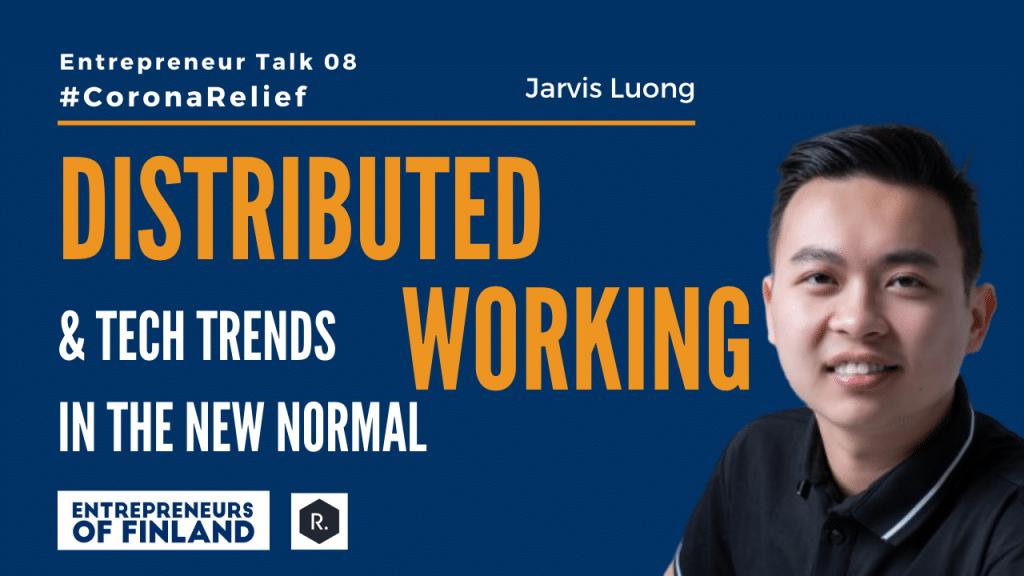 Jarvis Luong Reactron Trechnologies Entrepreneur Talk 08 CoronaRelief