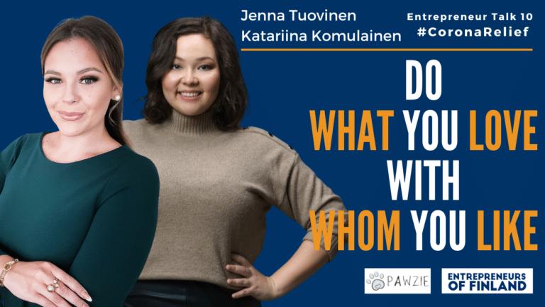 Setting up a profitable business in 30 days ft. Katariina Komulainen & Jenna Tuovinen Pawzie Finland Entrepreneurs